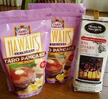 Taro_pancake_mix_and_coffee